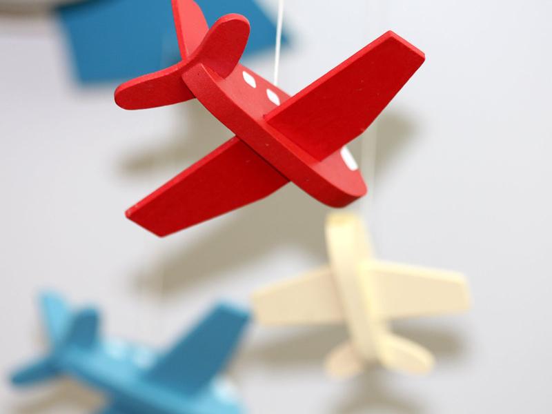 Mini avion jouet