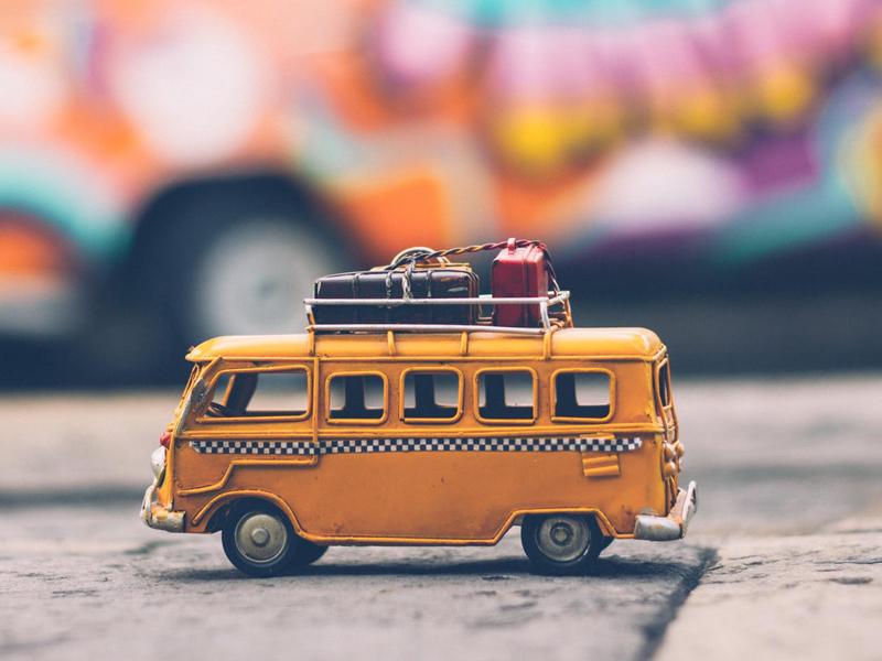Mini van jouet