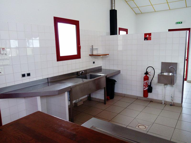 Salle des fêtes avec cuisine équipée près de Bordeaux