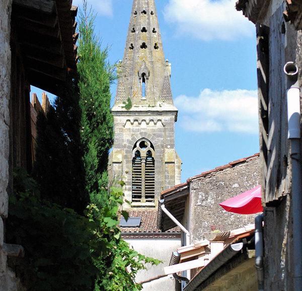 L'église de Laparade