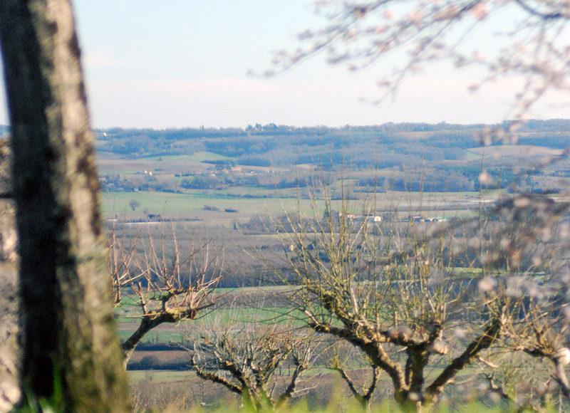 Un point de vue exceptionnel sur la vallée du Lot